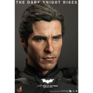 Hot Toys Batman Dark Knight Rises TKDR 1 4 Bruce Wayne Christian Bale