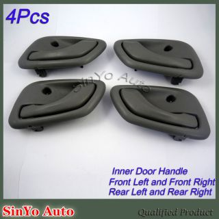 inside Interior Door Handle Right and Left Fit For Chevy Tracker 99 04