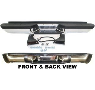 New Step Bumper Rear Chrome Chevy Full Size Truck Chevrolet C1500 99