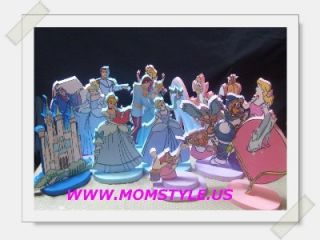 Cinderella Birthday Party Centerpiece Decoration PK
