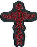 Celtic Cross   Christian Motorcycle Patch Jacket Sleeve Vest Hat Purse