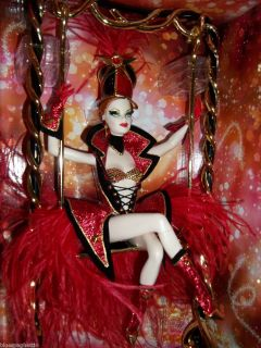 Bob Mackie Circus Barbie 2010 Gold Label LE 6 000 Tissued NRFB w
