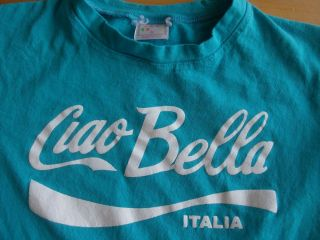 Ciao Bella Womens Size s Small Tee T Shirt Made in Italy