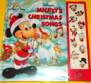 Disneys Mickeys Christmas Songs Play A Song New