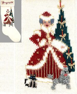 elegant heirlooms christmas stocking kit ms clausy $ 68 59 per item