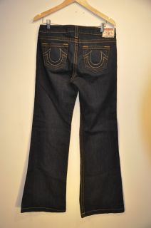 True Religion Womens Claire Relaxed Trouser Leg Size 31