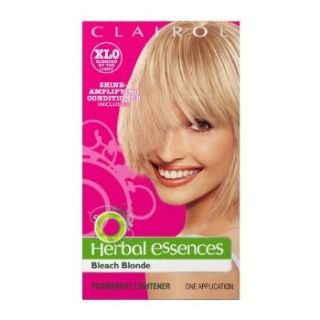 clairol herbal essences hair color xl0 bleach blonde