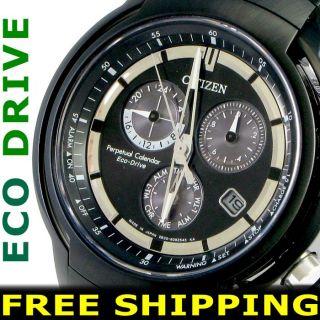 Citizen Men Eco Drive E820 100M Sport Watch New Warranty BL5395 00E
