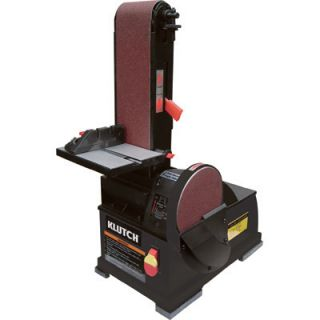 New Klutch Benchtop Belt Disc Sander Combo 1 2HP 2200 RPM