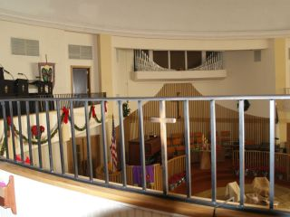 Balcony Hand Railing Guard Auditoriums Theaters Churches Gym