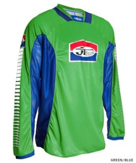 JT Racing Pro Tour Jersey   Green/Blue 2012