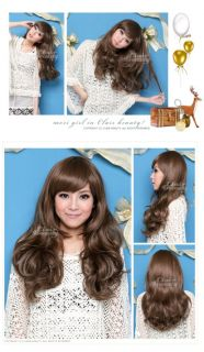 Clair Beauty 2012 Party 3 Colors Women Long Fluffy Curly Hair Wig