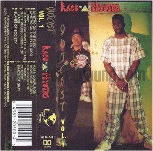 Outcast Vol 1 1st Press Detroit Righteous Rap Hip Hop Classic