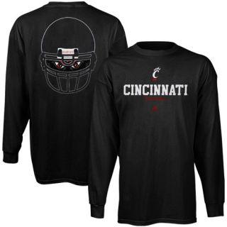 Adidas Cincinnati Bearcats Eyes Long Sleeve T Shirt Black