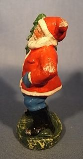 Santa Claus Christmas Figure Antique German 1930 WT58