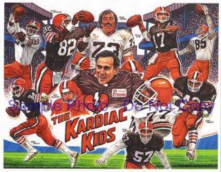 RARE Vtg 90s Cleveland Browns Snapback Hat Sports Specialties Starter