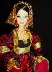 Queen Anne of Cleves OOAK Barbie Doll Henry VIII 4th Wife Tudor