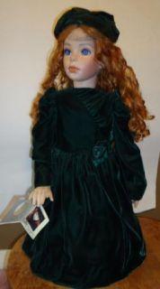 ORIGINALS Hutchens Porcelain Victorian Collector Doll CLARISSA 1993