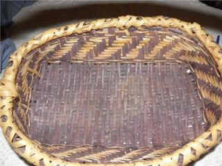 CHOCTAW Mississippi Native American Basket