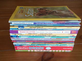 Readers 43 book lot grades Pre K K 1 2 Biscuit Disney Clifford Thomas