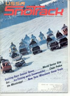 1971 Vintage Snowmobile MAGAZINE 1970 Arctic Cat Ski Doo TNT Polaris