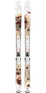 Rossignol B86 Womens + Saphir 110 Skis 2009/2010