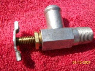 Vintage Water Heater Shut Off Flow Control Valve Flathead Ford Mercury