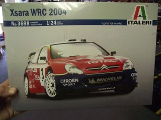 Italeri 1 24 Citroen Xsara WRC 2004 Model Kit