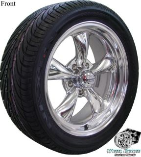 17x7 17x9 POLISHED REV CLASSIC WHEELS TIRES CHEVY S10 BLAZER 1998 1999