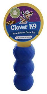Clever K 9 Treat Release Mini Dog Toy by Mercola 1 Unit Canine Made in
