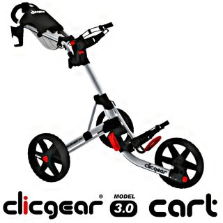 Clicgear Model 3 0 Push Cart Silver Brand New in Box 2012