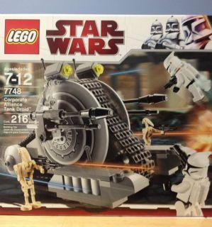 Lego Star Wars The Clone Wars Corporate Alliance Tank Droid 7748