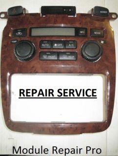 06 07 Toyota Highlander A C Heater Climate Control Repair Kit