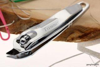 Wonderful Side Nail Clipper Cutter Manicure Pedicure Fit Anybody New
