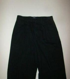 Boys Class Club Black Khaki Pants Size 16 Regular 28x29