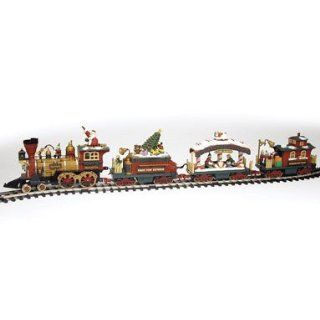 New Bright Holiday Express Animated Electric Train Set G Scale Used