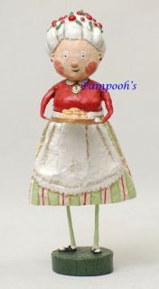 Lori Mitchell Mrs Claus Santa Christmas Folk Art Figurine