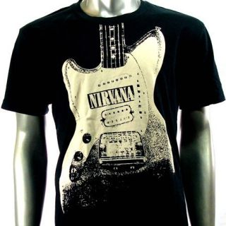 Sz XL Nirvana Kurt Cobain T Shirt Biker Punk Music Rock S5
