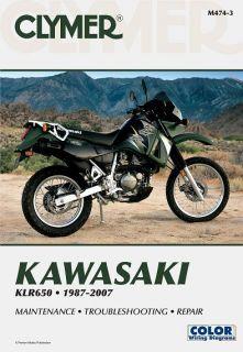 kawasaki klr500 klr650 2002 repair service manual