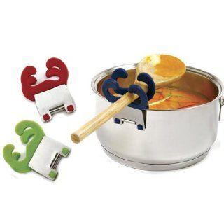Norpro Grip EZ Silicone Spoon Spatula Pot Pan Clip