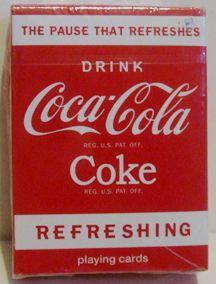 Coca Cola Coke Soda Mini Bicycle Playing Cards Deck