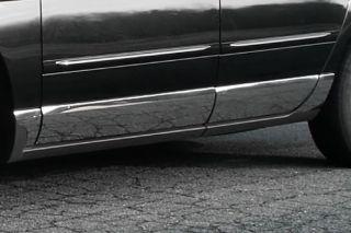 04 08 Chrysler Pacifica   Rocker Panels Molding Chrome Trim, Lower Kit