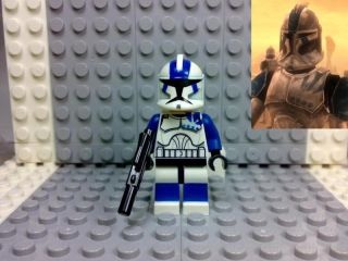 Lego Star Wars Clone Trooper Sergeant Kano Custom