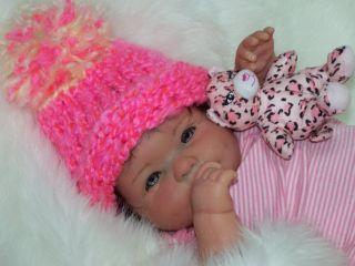 Precious CHUBBY REBORN PREEMIE BABY BERENGUER GIRL~ Full vinyl limbs