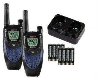 Cobra MicroTalk 25 Mile Walkie Talkies Handheld Radios