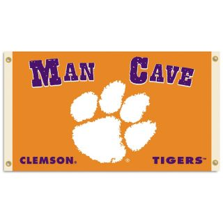 Clemson Tigers Man Cave 3 x 5 Foot Flag