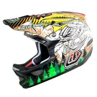 Troy Lee Designs D3 Carbon   Seth Yellow 2011