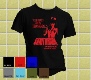 Metallica Sanitarium Cliff Burton T Shirt All Sizes