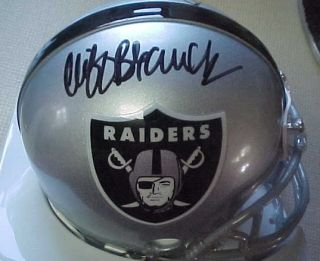Ken Stabler Cliff Branch Signed Oakland Raiders Helmet
