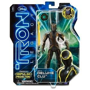 Walt Disney Tron Legacy Deluxe CLU Electronic Talking Action 7 Figure
